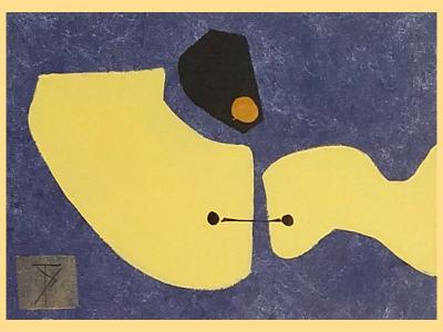 Composition with Yellow - sold