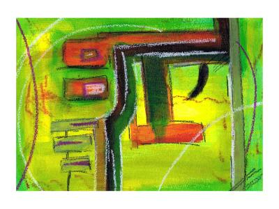 three hours - Original SOLD - Giclée prints are available