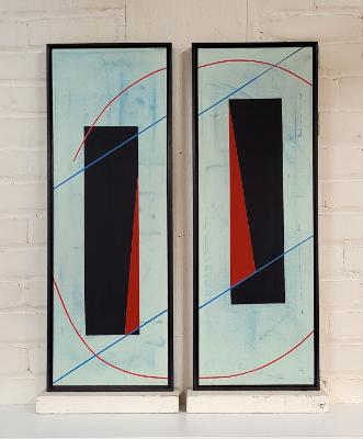 Infinite - Diptych *sold*