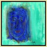 she dreams in blue