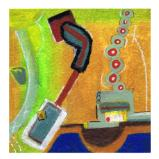 river man (framed)